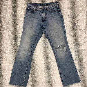 Levi's Straus Distressed High Rise Jeans